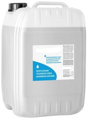 Demineralizovaná voda (služba úpravy vody) 25 L bandaska