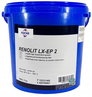 FUCHS Renolit LX EP 2  5kg